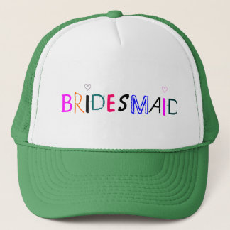 SALE! Bridesmaid Trucker Hat