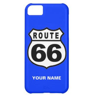 SALE - Custom Name Rout 66 Americana iPhone 5 Case