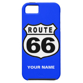 SALE - Custom Name Rout 66 Americana iPhone 5 Case