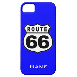 SALE - Custom Name Route 66 iPhone 5 Case