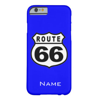 SALE - Custom Name Route 66 iPhone 6 case Barely There iPhone 6 Case