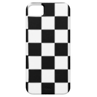 SALE - Giant Black White Check Retro iPhone 5 Case