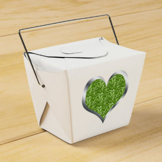 SALE! Glitter Heart Wedding Birthday Favour Party Favour Box