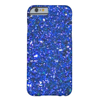 SALE Gorgeous Blue Glitter iPhone 6 case Barely There iPhone 6 Case