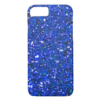 SALE Gorgeous Blue Glitter iPhone 7 case