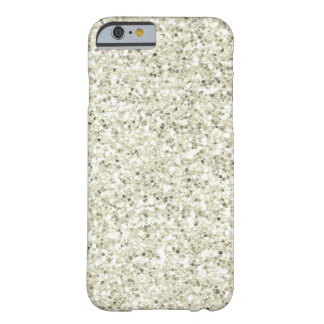 SALE Gorgeous White Glitter iPhone 6 case Barely There iPhone 6 Case
