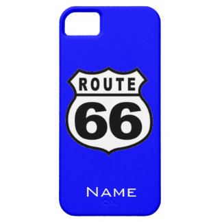 SALE - iPhone 5 Custom Name Route 66 Case Case For The iPhone 5