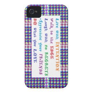 SALE phone cases Elegant Border Wisdom Quores Case-Mate iPhone 4 Case