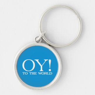 SALE - Premium Key Chain - Oy! to the World
