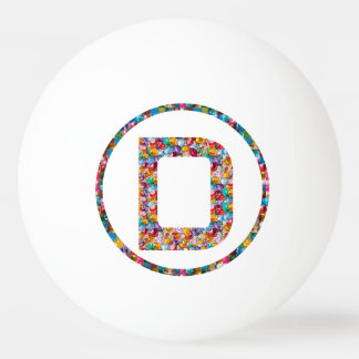 SALE PRICE ALPHABET ART D DD DDD 3* Ping Pong Ball