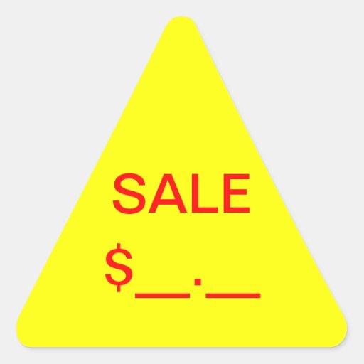 Sale Price Label Stickers