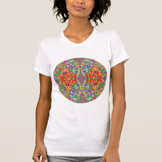SALE PRICE: ROUND Oval DISCS Colorful Crazy shirt