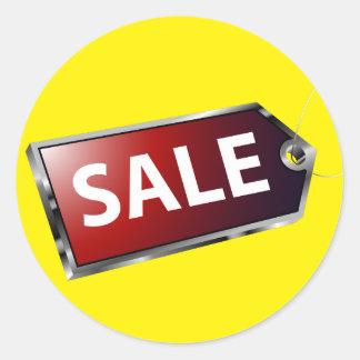 Sale Price Tag Sticker