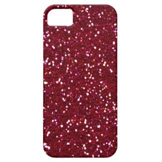 SALE - RED HOT RED Glitter iPhone 5 Case