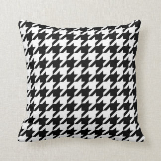SALE - Retro Houndstooth Throw Pillow