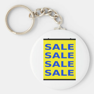 Sale Sign Key Chains