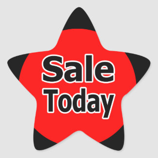Sale Today Star Stickers