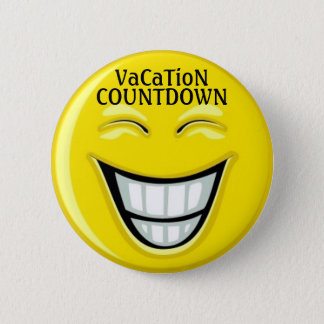 SALE! Vacation COUNTDOWN - SRF 6 Cm Round Badge