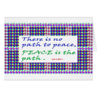 SALE Wisdom Quote printed gifts Greeting Card