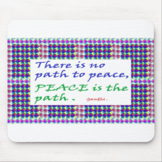 SALE Wisdom Quote printed gifts Mouse Pad