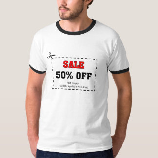 Sale with Coupon T-Shirt