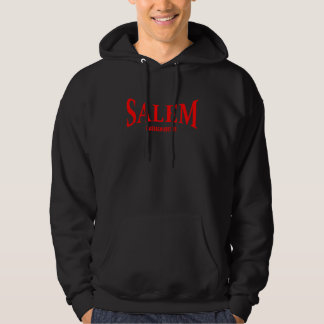 Salem Massachusetts - talk print Hoodie