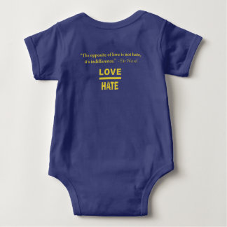 Salem No Place for Hate Baby Baby Bodysuit
