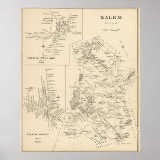 Salem, Rockingham Co Poster