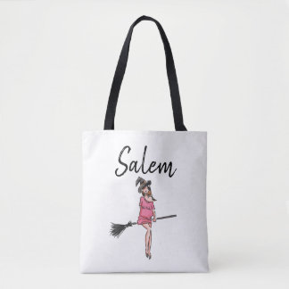 Salem Witch / Halloween Tote Bag