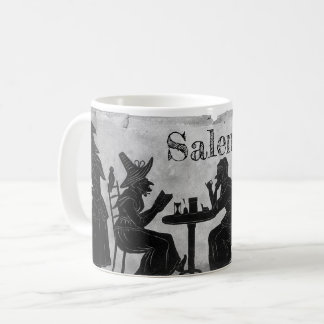 Salem Witches stewing and brewing coffee mug