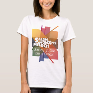 Salem Womxns Womens March 2018 Oregon T-Shirt