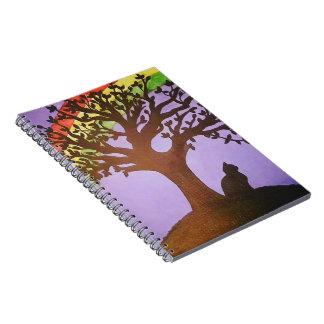 Salem's Rainbow Notebooks