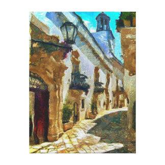 Salerno, Italy Canvas Print