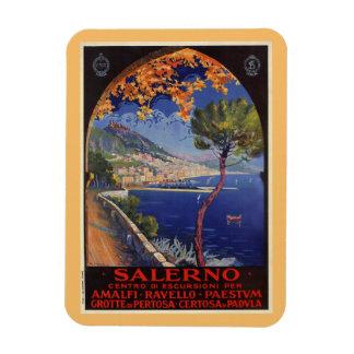 Salerno Italy vintage summer travel ad Magnet