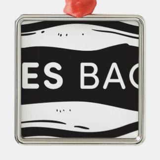Sales Bacon Metal Ornament
