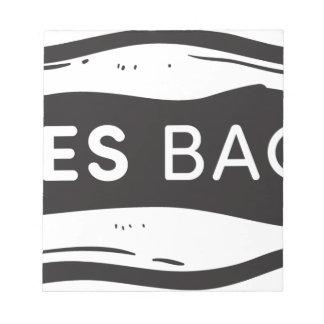 Sales Bacon Notepad