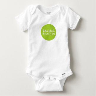 Sales Beacon - Logo - Green Baby Onesie