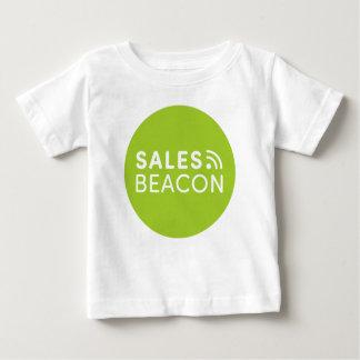 Sales Beacon - Logo - Green Baby T-Shirt