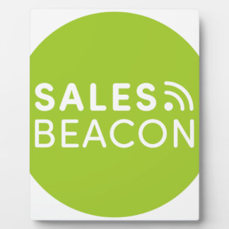 Sales Beacon - Logo - Green Plaque