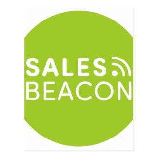 Sales Beacon - Logo - Green Postcard