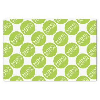 Sales Beacon - Logo - Green Tissue Paper
