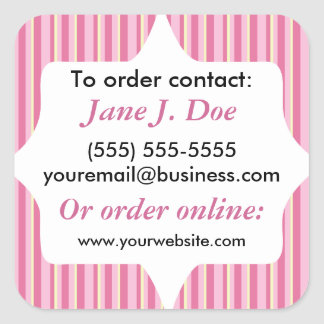 Sales Brochure Labels for Avon and More Square Sticker