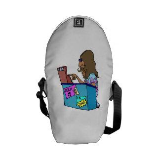 Sales Clerk Messenger Bags