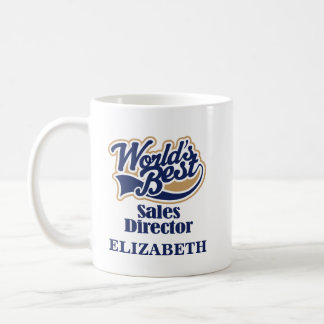 Sales Director Personalized Mug Gift