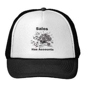 Sales Has Accounts Cap