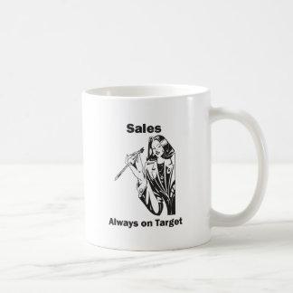 Sales is Always on Target Coffee Mug