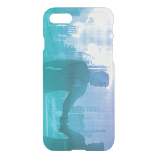 Sales Meeting with Businessmen Shaking Hands iPhone 7 Case