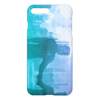 Sales Meeting with Businessmen Shaking Hands iPhone 7 Plus Case