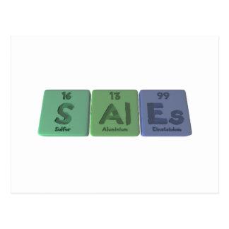 Sales-S-Al-Es-Sulfur-Aluminium-Einsteinium.png Postcard