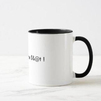 Sales Strategy Coffee Mug.... Just Sell Some $&@t Mug